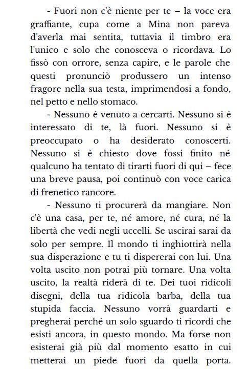 """Si tratta del capitolo Quattro, pagina 37 del racconto """"Il giorno in cui non sei più esistito"""". di Claudia Toni"""